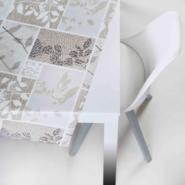 Tischbelag Vida Style Season beige Meterware 140 cm