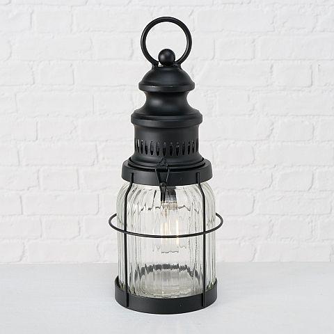 Tischlampe Volta, LED, H 32,00 cm, D 12,00 cm, Eisen