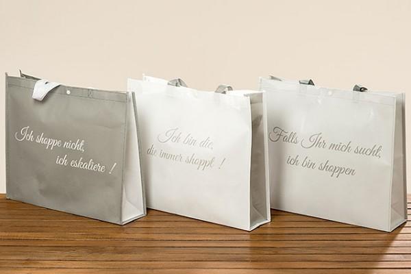 Tasche Shoppingbegleiter aus Kunststoff