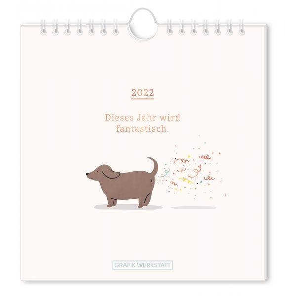 Postkartenkalender 2022 Dieses Jahr wird fantastisch. FSC