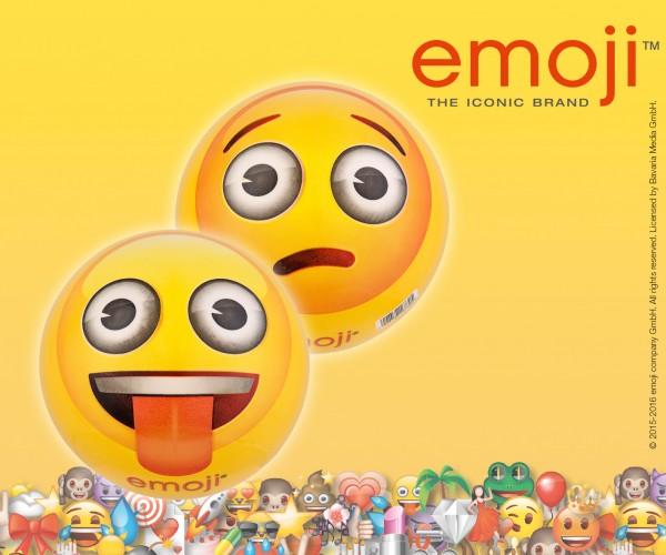 emoji® Kunststoffball 23 cm,