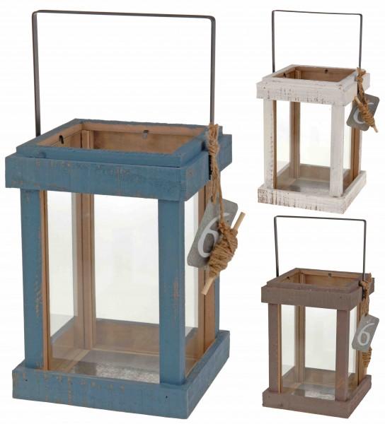 Laterne, 17x17Xx4cm, Holz