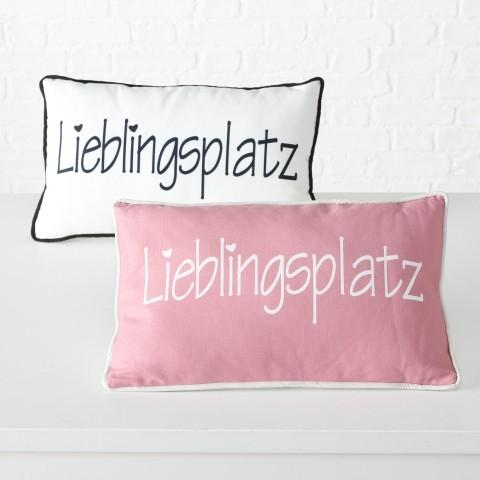 Kissen Lieblingsplatz 50x30cm, 100% Polyester