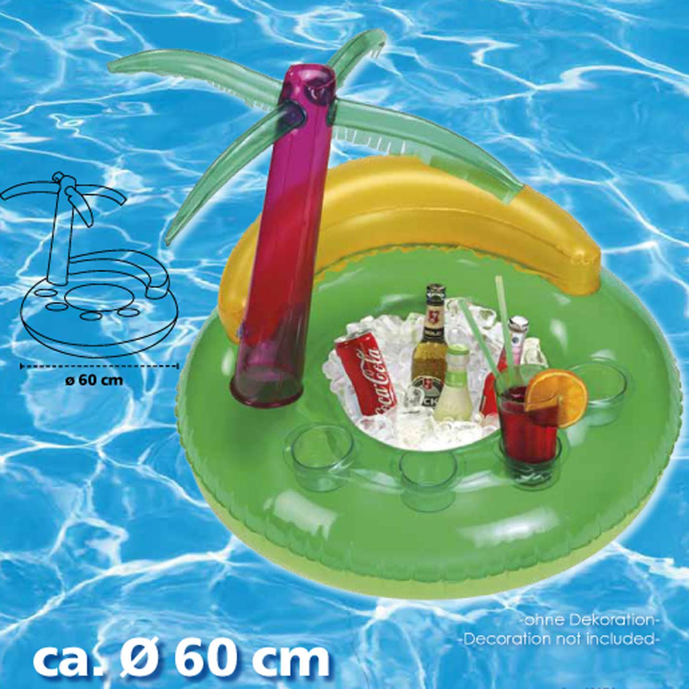 60 cm Badeinsel Pool Bar BANANA /Ø ca