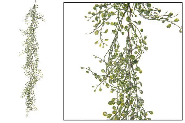 Mini leaves garland artificial 90cm