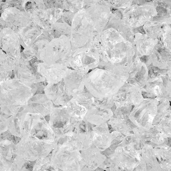 DEKO GLAS-STEINE 700 G 4-10 mm klar