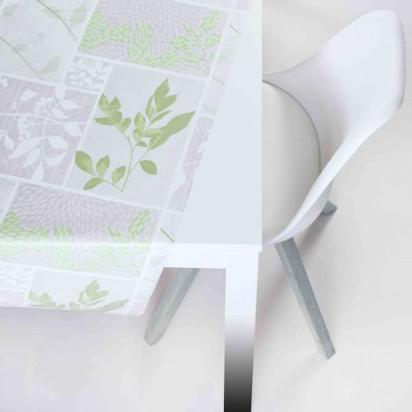Tischbelag Vida Style Season beige/green Meterware 140 cm