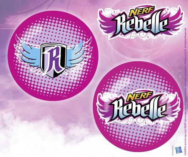 NERF Rebelle Kunststoffball,