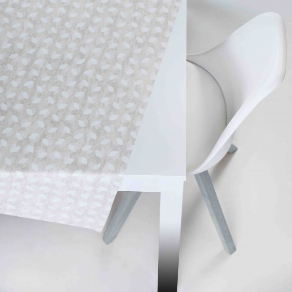 Tischbelag Vida Style Plus Stella beige Meterware 140 cm