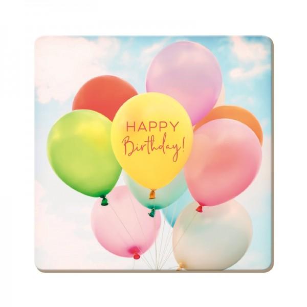 Korkuntersetzer Happy Birthday!