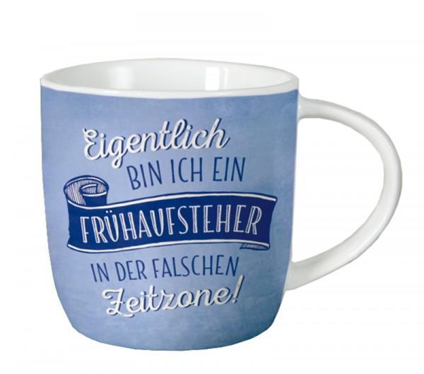 Tasse VintageArt Eigentlich bin ich ein Frühaufsteher…