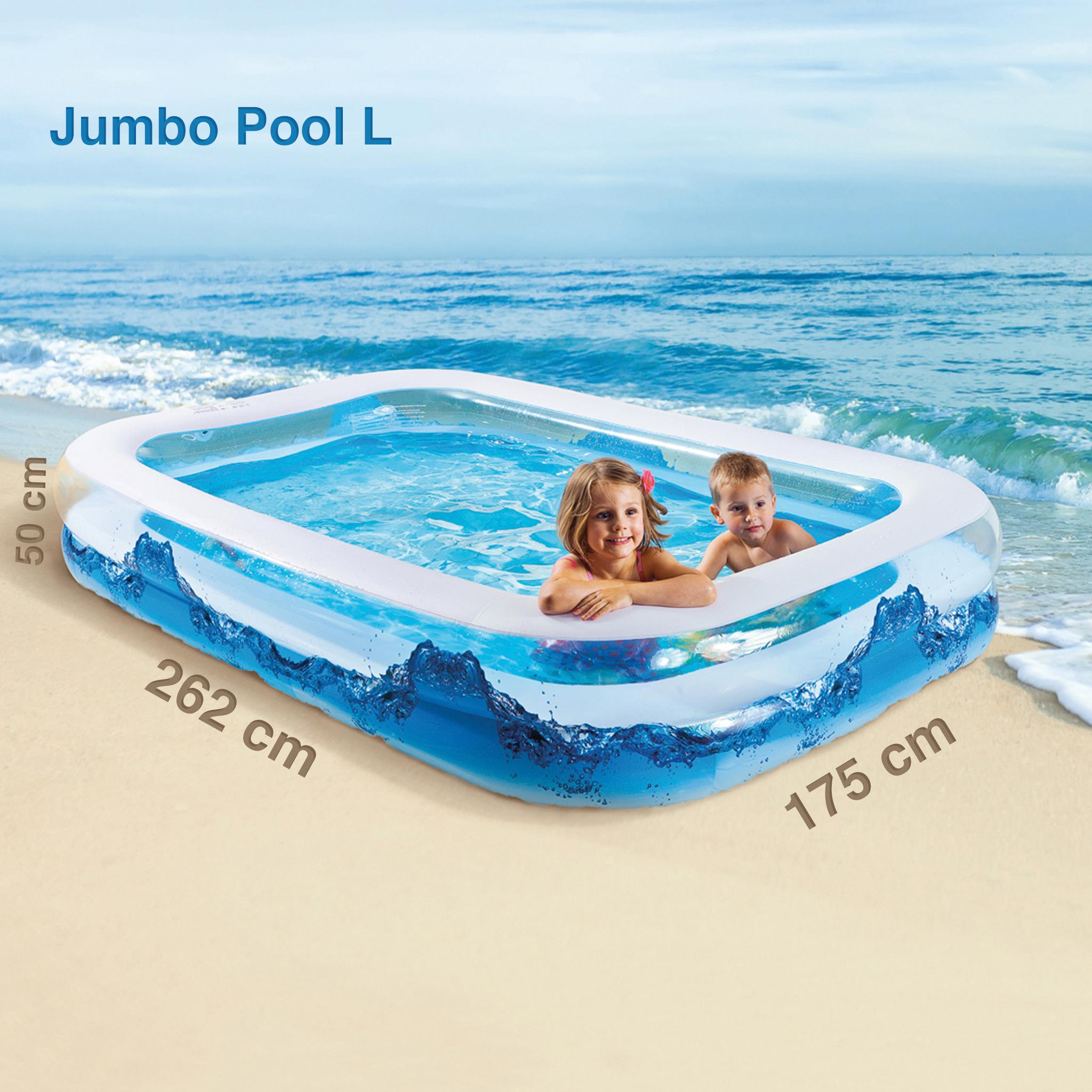jumbo family pool kinder planschbecken schwimmbecken mit 2 w lsten vida home der onlineshop. Black Bedroom Furniture Sets. Home Design Ideas