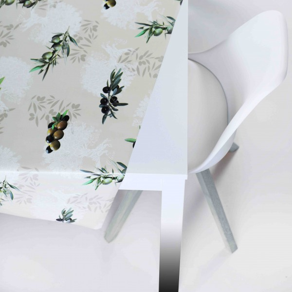 Tischbelag Vida Style Olivio Meterware 140 cm