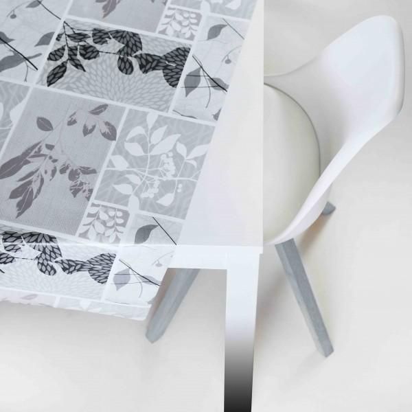 Tischbelag Vida Style Season grey Meterware 140 cm