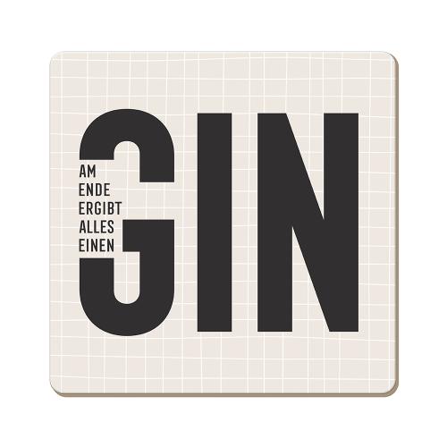 Korkuntersetzer Gin...
