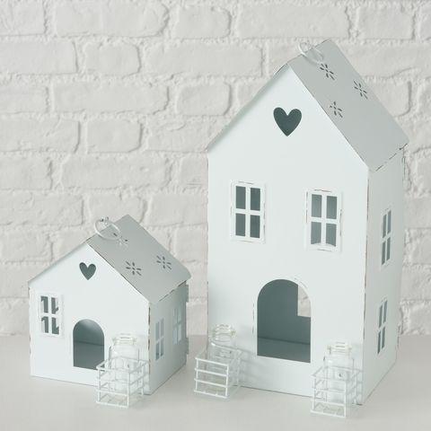 Laterne Amelie, Haus, Indoor, H 33,50 cm, B 17,50 cm