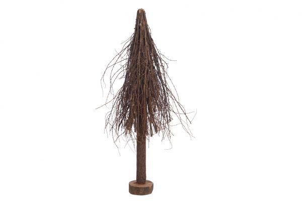 Twig christmas tree 35x35x100cm