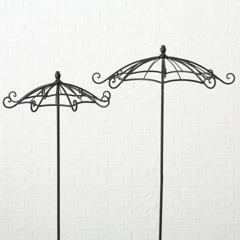 Rankhilfe Regenschirm S/2 H140-142cm Eisen pulverbeschichtet