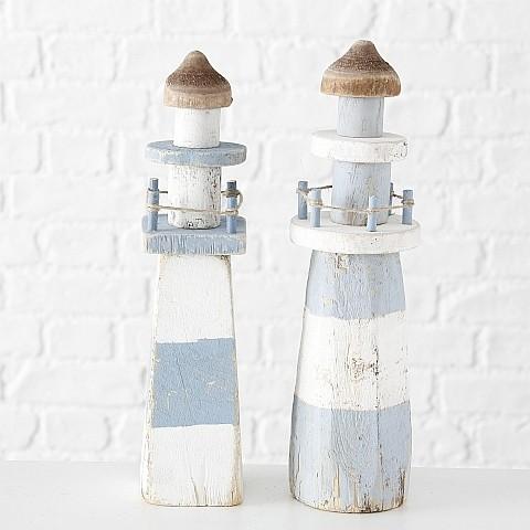 Leuchtturm Elian 2sort H36cm Material: 95% Blauglockenbaum /lat. Paulownia tomentosa, 5% Jute Blaugl