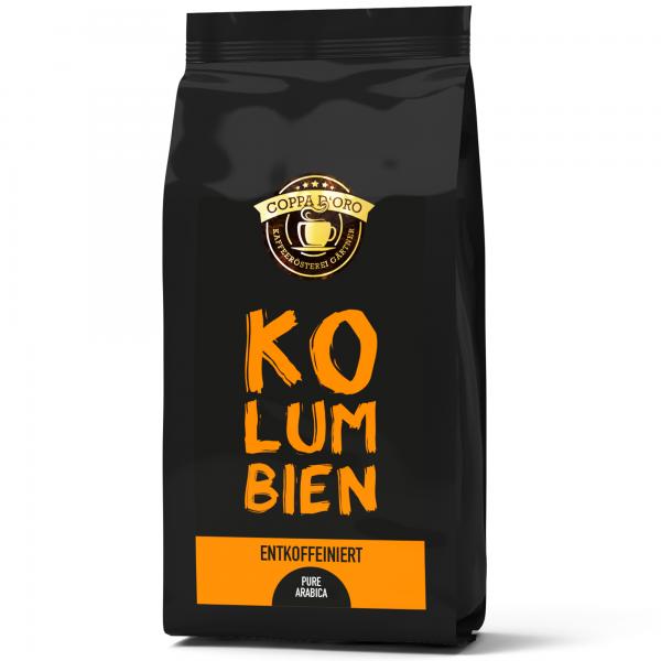 Kolumbien CO²-entkoffeiniert