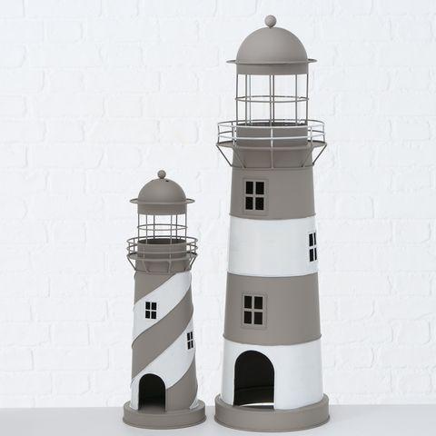 Laterne Amrum, Leuchtturm, Indoor, H 75,00 cm, B 22,00 cm