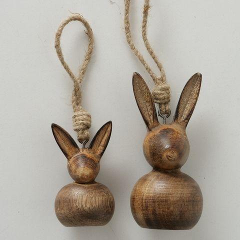 Hängefigur Nala, Hase, H 7,00 cm, L 4,50 cm, Mango