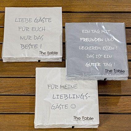 Serviette Gäste 20tlg 3s 3lg Papier