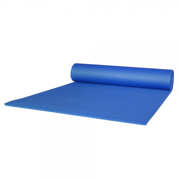 Gymnastikmatte blau 65 x 180 cm rechteckig