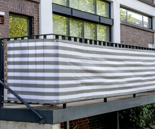 balkon sichtschutz 600x75 cm balkonsichtschutz balkonumrandung balkonverkleidung windschutz