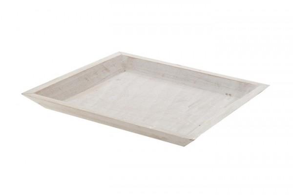 Holztablett 30x30x2.5cm