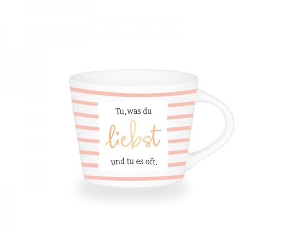 Espresso-Tasse Schreibkram Manufaktur Tu, was du liebst