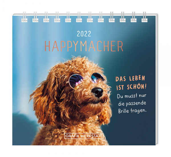 Mini-Kalender 2022 Happymacher FSC