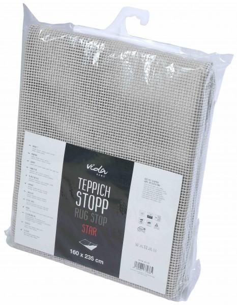 Teppichstop Teppichunterlage Antirtusch Star - PVC Gitter für glatte und harte Böden