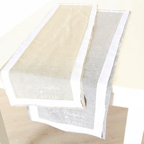 Tischläufer Hampton 2s 140x40 30° Maschinenwäsche Material: 100% Baumwolle Baumwolle