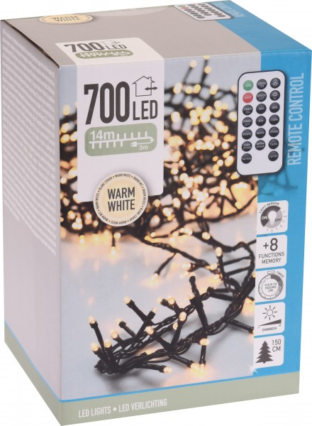 MIKROCLUSTER 700 LED WARMWEISS