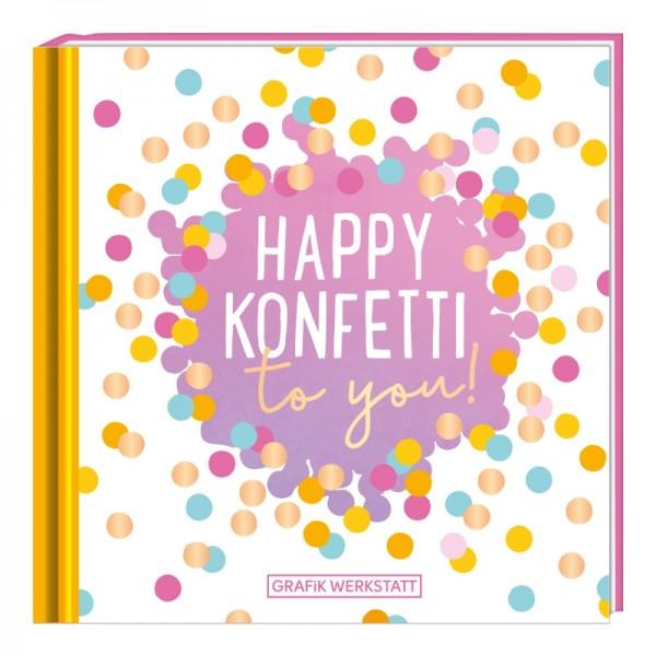 Minibuch Happy Konfetti to you!