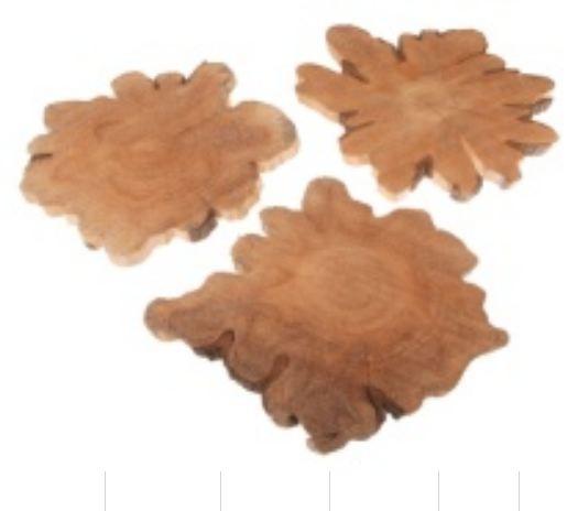 Holzscheibe 30-40x2,5 cm