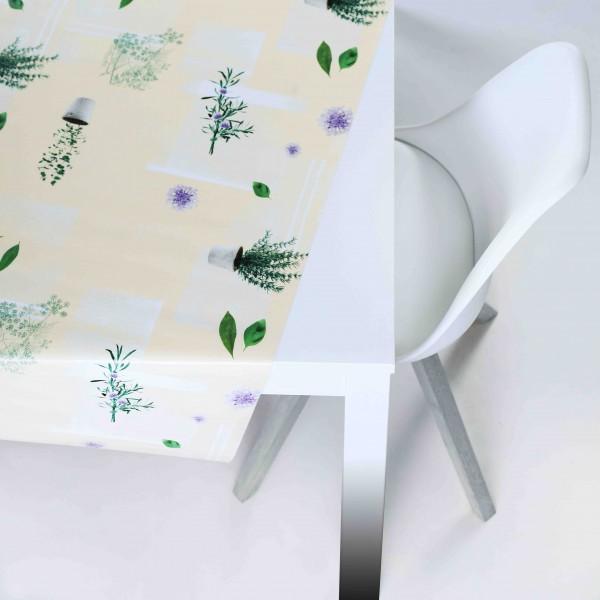 Tischbelag Vida Style Aromatice vanille Meterware 140 cm