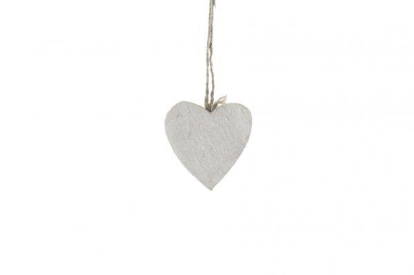 Wooden heart 7x7cm 10pc