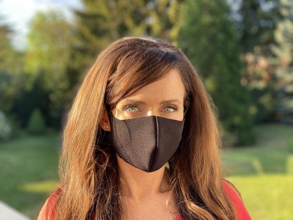 Mund und Nasen Behelfsmaske