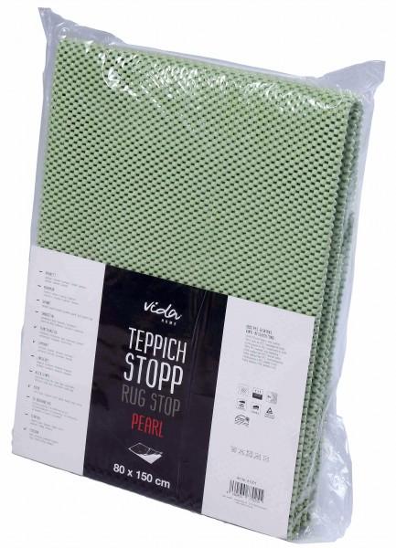 Teppichstop Teppichunterlage Antirtusch Pearl hochwertiges PVC Gitter für glatte und harte Böden