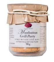 Manhattan Grill-Party Dip im 90g Glas