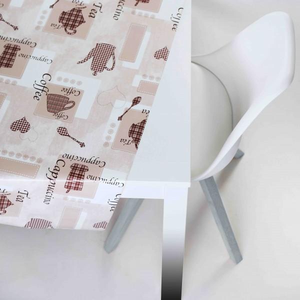 Tischbelag Vida Style Cappucino Meterware 140 cm