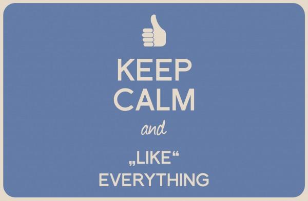 Tischset Keep Calm