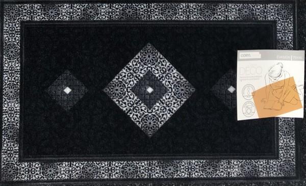 Fußabtreter Fußmatte 45x75 cm anthrazit