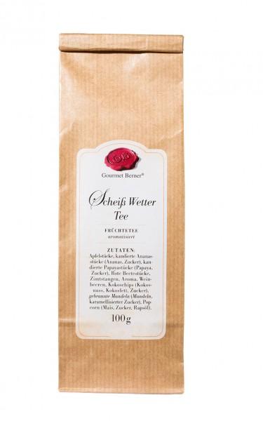 Scheiß Wetter Tee, Früchtetee im 100g Beutel