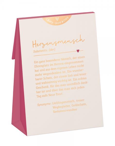 Herz-Bonbons 80g Schreibkram Manufaktur Herzensmensch