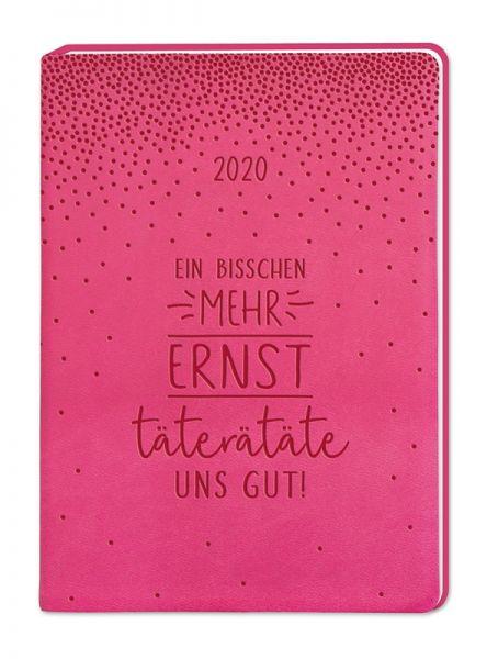 Terminplaner Lederlook 2020 Pink