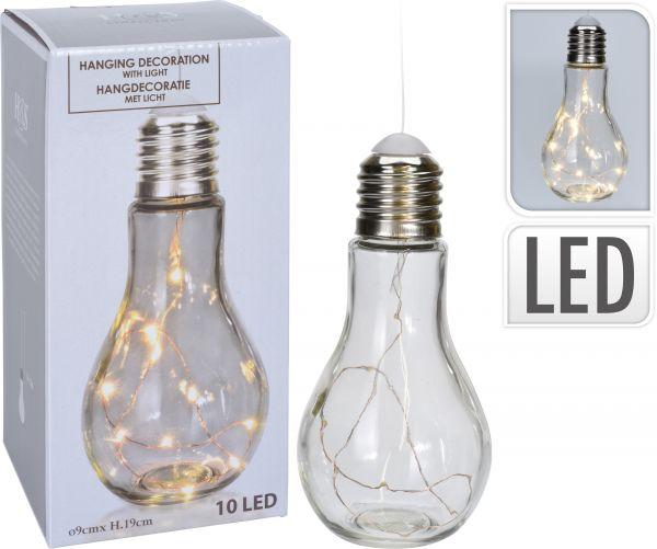 Lampe 9x19cm