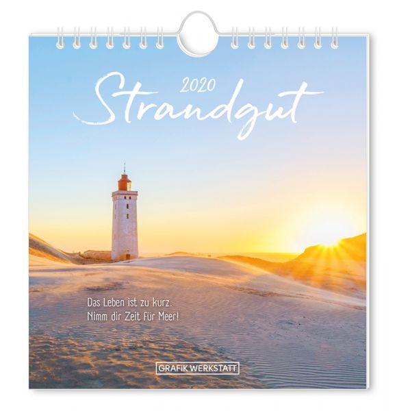 Postkartenkalender 2020 Strandgut